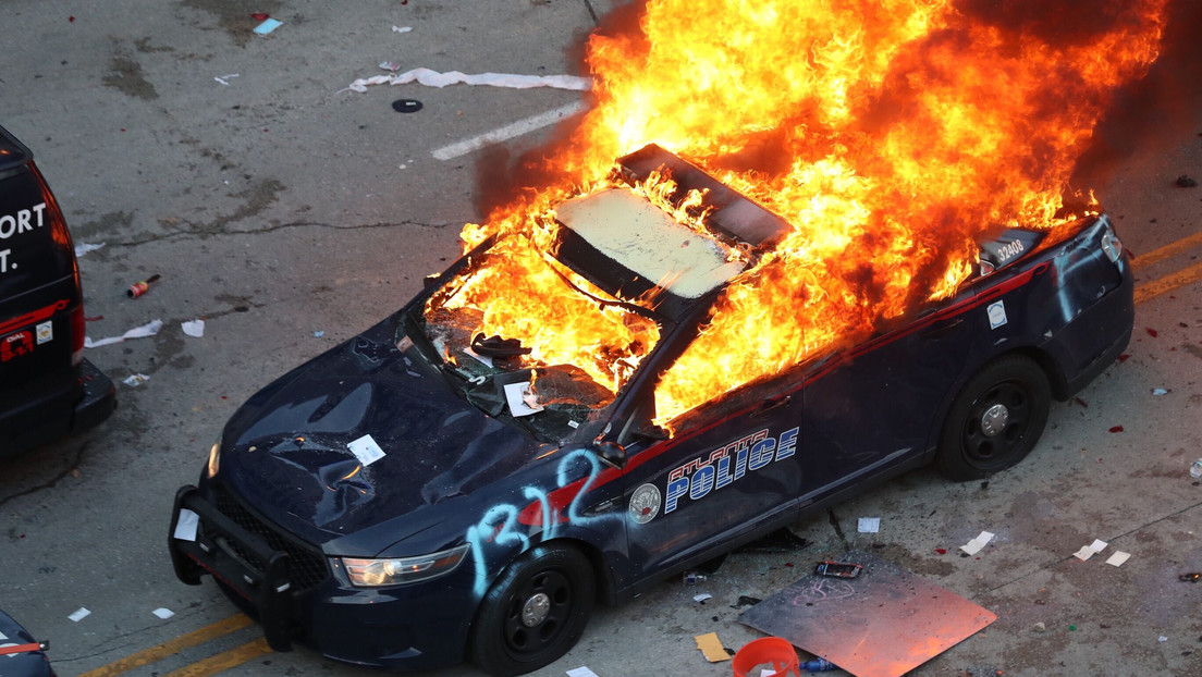 Decretan el estado de emergencia en Georgia tras las protestas en Atlanta por la muerte de George Floyd