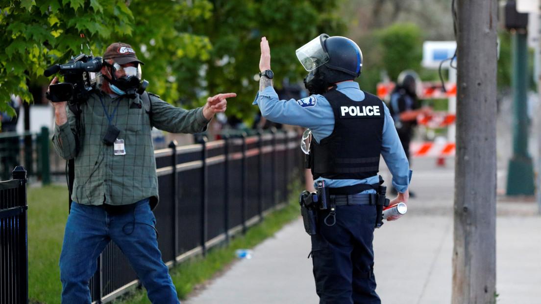 Rusia critica el uso de gases lacrimógenos contra periodistas por la Policía de EE.UU. y exige respuesta internacional