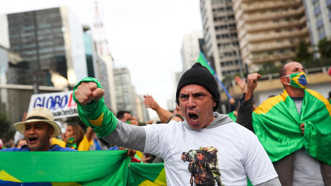 """""""¿Vamos a esperar un linchamiento?"""": Periodistas denuncian inseguridad y el """"mensaje violento"""" de Bolsonaro"""