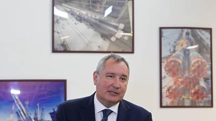 El jefe de la agencia espacial rusa Roscosmos, Dmitri Rogozin.