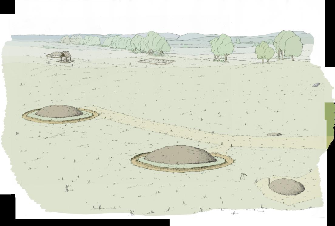 Fascinantes hallazgos tras la exhumación en Francia de tres sepulturas que datan de la Edad del Hierro