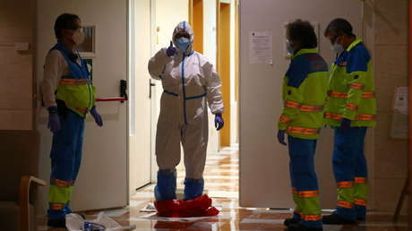 """Enfermera española, sobre su lucha contra el coronavirus: """"El miedo y la soledad son los dos sentimientos mayores que hemos visto"""""""