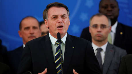 """""""Hambre, desempleo, miseria"""": Bolsonaro vaticina los efectos del confinamiento e insiste en terminarlo"""