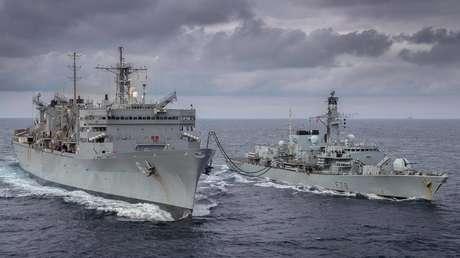La Armada rusa vigila a cuatro buques de la OTAN que ingresaron en el mar de Barents por primera vez desde mediados de la década de 1980