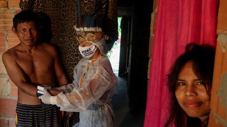 """Los indígenas de Brasil piden ayuda a la OMS para protegerse frente al coronavirus: """"Nos estamos muriendo"""""""