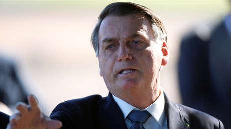 """""""¡Cállate la boca!"""": Bolsonaro carga contra periodistas que preguntaron por el nuevo mando en la Policía Federal"""