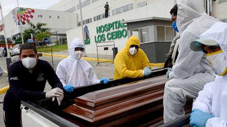 Las muertes por coronavirus en Ecuador superan las 3.000, entre confirmados y probables