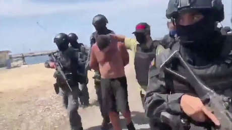 Uno de los detenidos tras la incursión fallida en Venezuela se ...