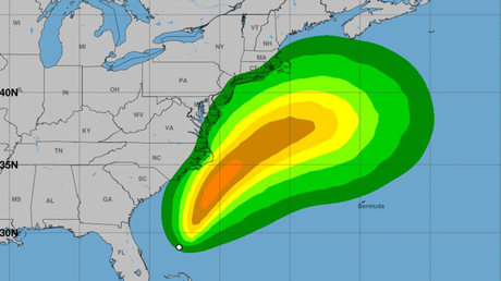 Se forma Arthur, la primera tormenta tropical que llega antes de la temporada de huracanes en el Atlántico