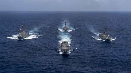 Los barcos de la Marina de EE.UU. mejoran su capacidad de ataque con una nueva antena multihaz que une todos los equipos en una red común