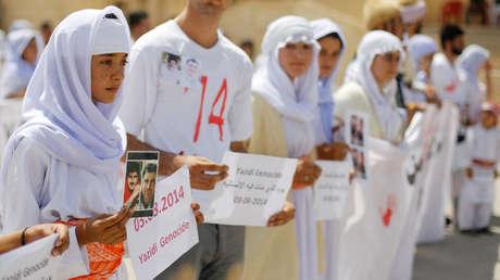Violadas por docenas de 'dueños' durante varios años: las yazidíes cuentan cómo fueron mantenidas como esclavas sexuales por el EI