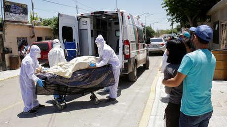 México registra el día más letal de la pandemia del coronavirus con 501 muertes