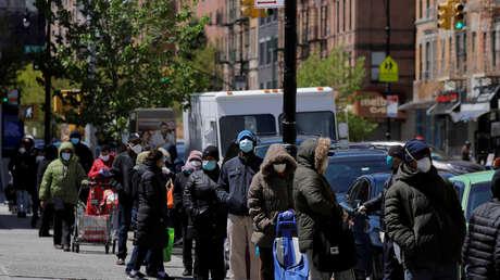 Más de 40 millones de personas: Uno de cada cuatro trabajadores de EE.UU. ha solicitado subsidios de desempleo durante la pandemia
