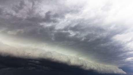 FOTOS: Así se ven las inmensas nubes de tormenta que frustraron el lanzamiento de SpaceX y la NASA