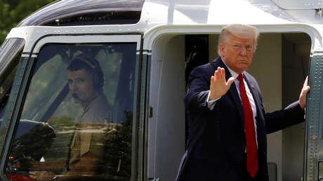 """""""¡Los militares de EE.UU. están listos!"""": Trump afirma que la seguridad """"tiene que endurecerse"""" mientras aumentan protestas por George Floyd"""