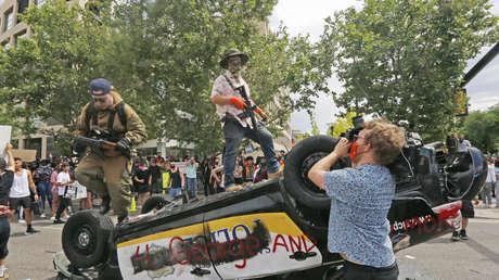 Utah convoca a la Guardia Nacional y declara el toque de queda por los disturbios en Salt Lake City
