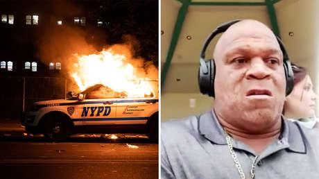 """""""Parecía que posaba con un pieza de caza mayor"""": El tío de Floyd habla del policía que arrestó a su sobrino"""