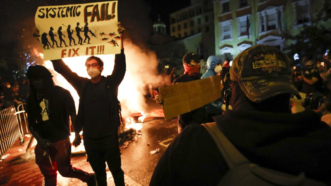 «USA Under Attack» Nueva noche de violencia en las calles de Estados Unidos