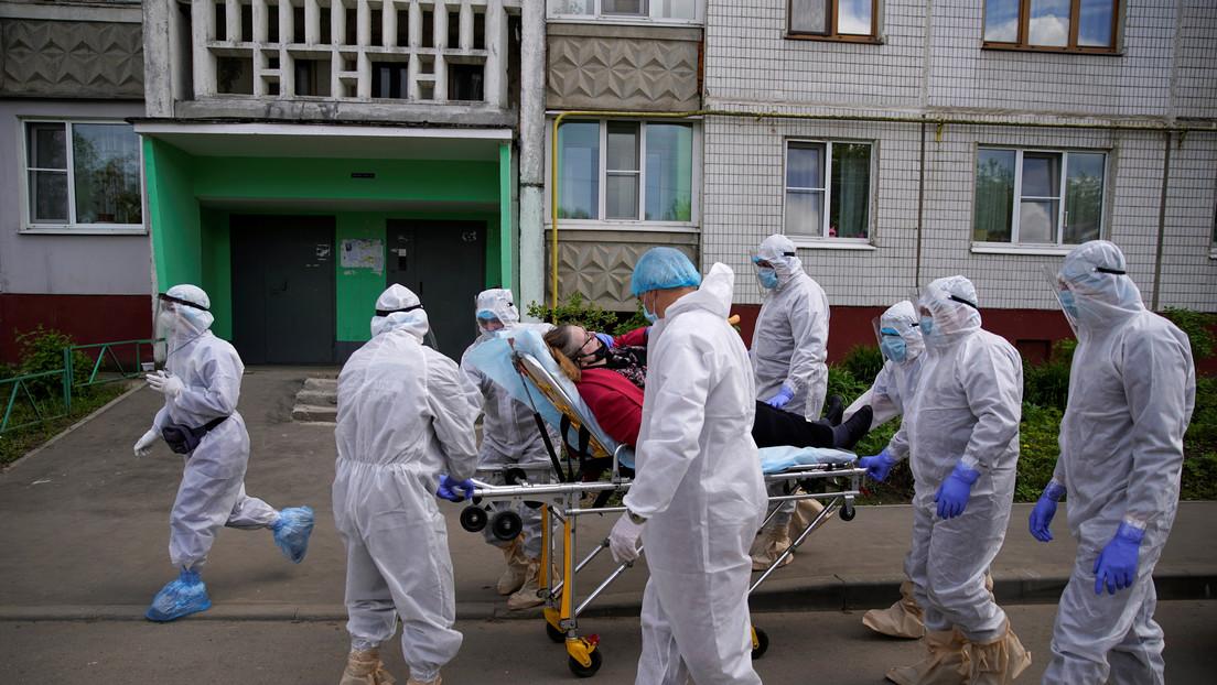 Asciende a 414.878 el número de casos de coronavirus en Rusia tras confirmarse los últimos 9.035
