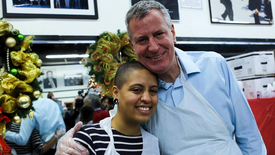 Reportan el arresto de la hija del alcalde de Nueva York mientras protestaba por la muerte de George Floyd