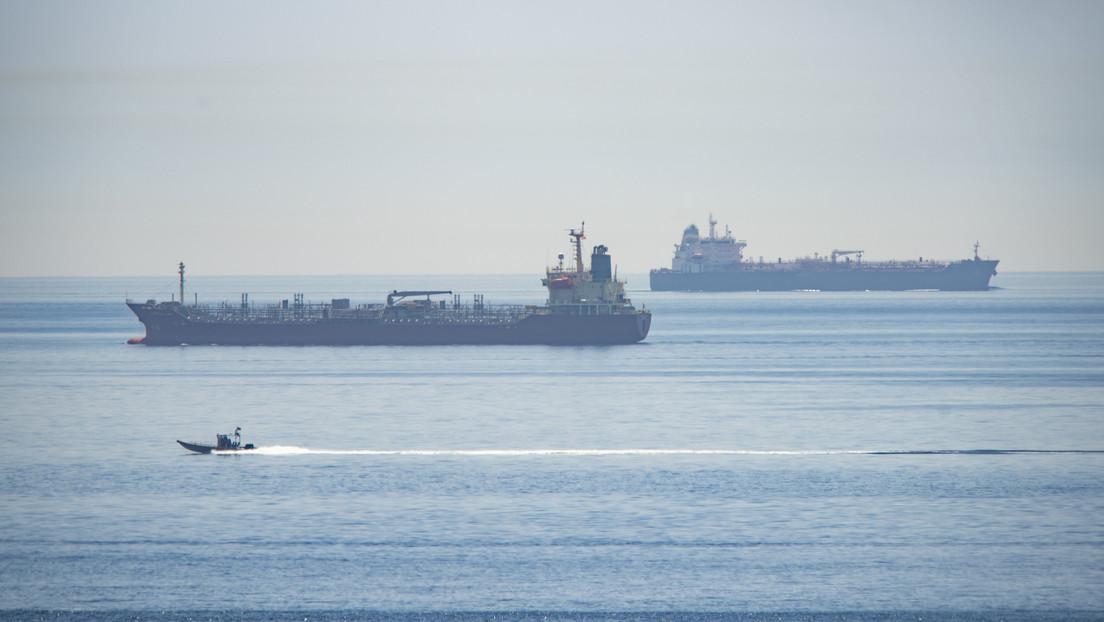 El último de los cinco tanqueros enviados por Irán llega a las aguas territoriales de Venezuela