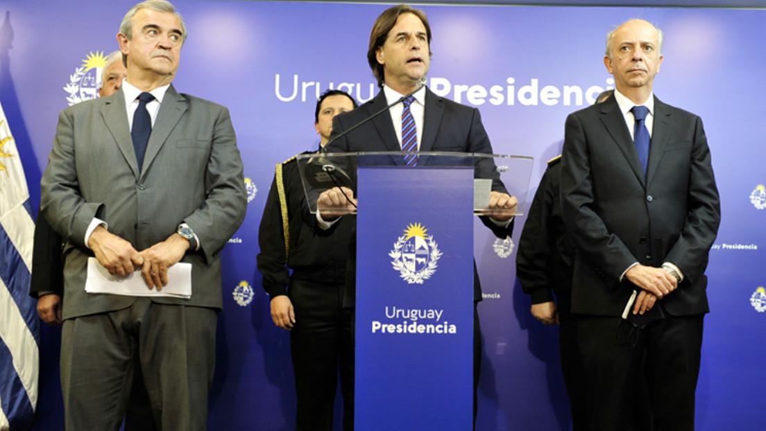 Hallan a tres militares ejecutados con un tiro en la cabeza en un puesto de guardia en Montevideo