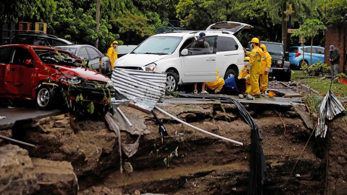 La tormenta tropical Amanda causa 15 víctimas mortales y pone a El Salvador en alerta roja