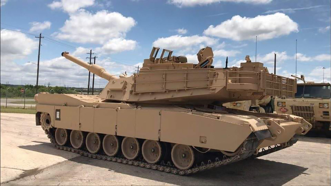 VIDEO: El Ejército de EE.UU. recibe el primer lote de tanques Abrams M1A2 SEP