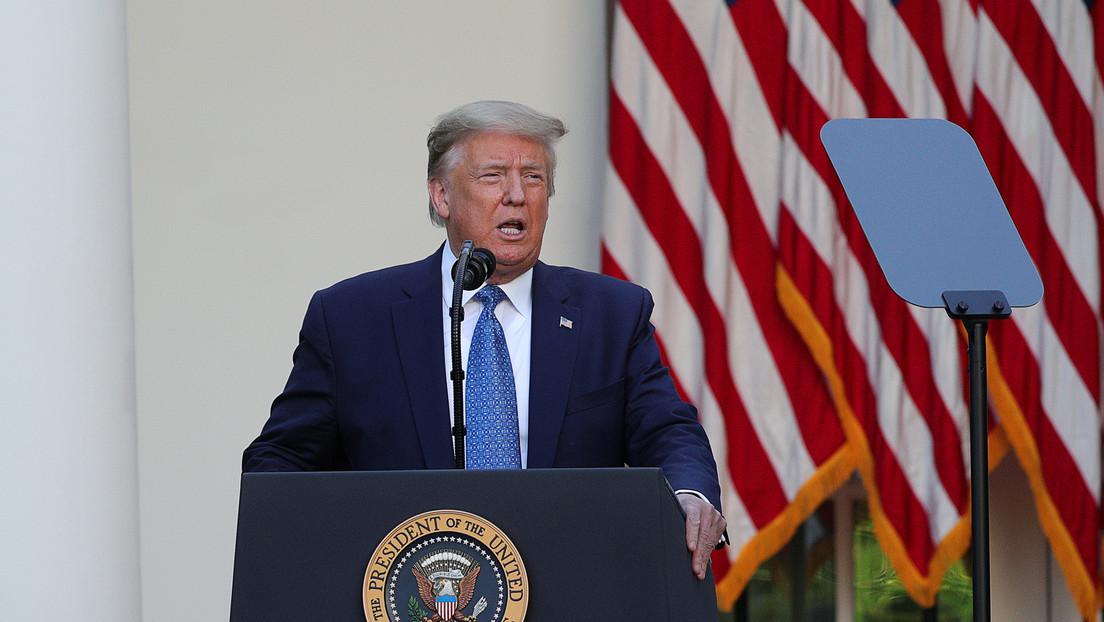 """Trump moviliza a """"miles y miles de soldados fuertemente armados, militares y agentes del orden público"""" para detener los disturbios en Washington"""