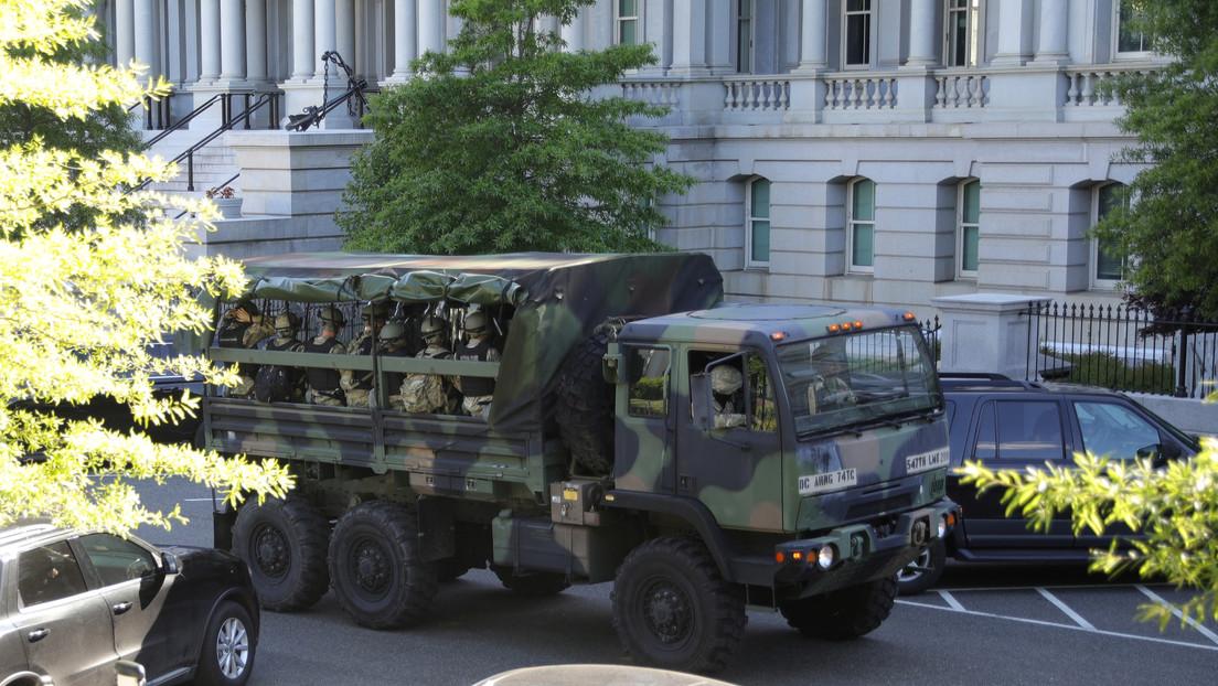 """Trump invoca la Ley de Insurrección de 1807 para desplegar militares y """"resolver rápidamente el problema"""" con los disturbios"""