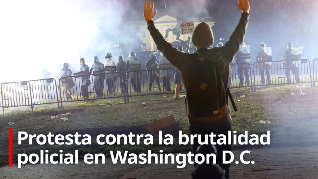 VIDEO: Continúan las protestas contra la brutalidad policial en Washington