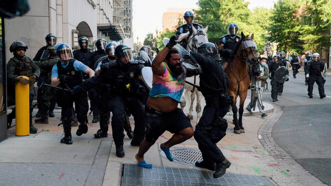 La Casa Blanca establece un centro de comando central para combatir los disturbios por la muerte de George Floyd