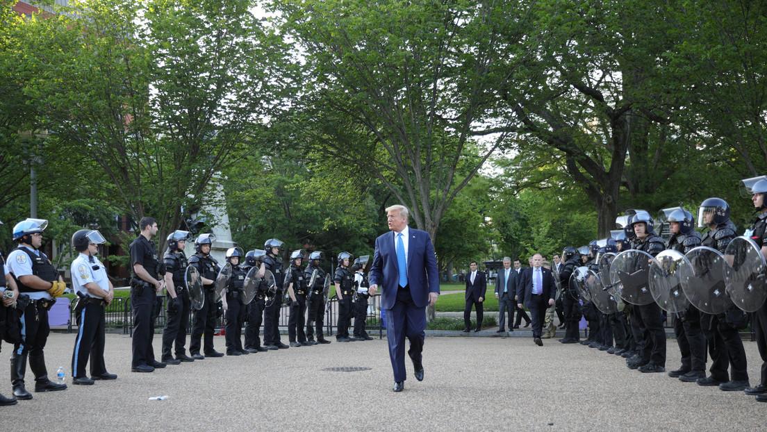 Trump amenaza con activar el Ejército ante los disturbios ...