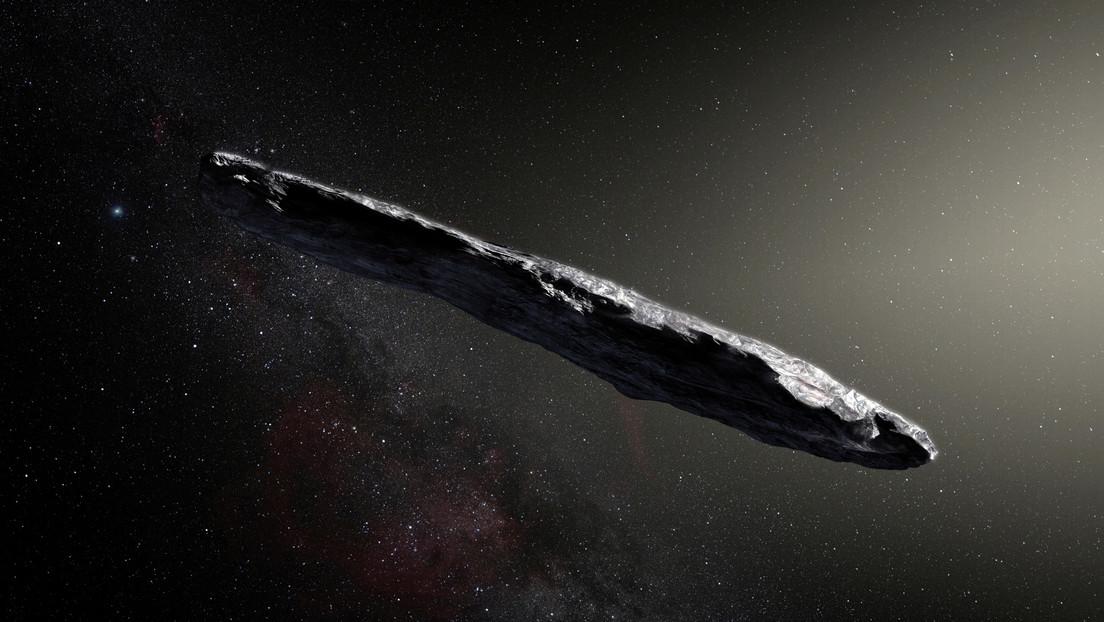 """El asteroide interestelar Oumuamua puede ser """"un nuevo tipo de objeto"""" por su inusual composición"""