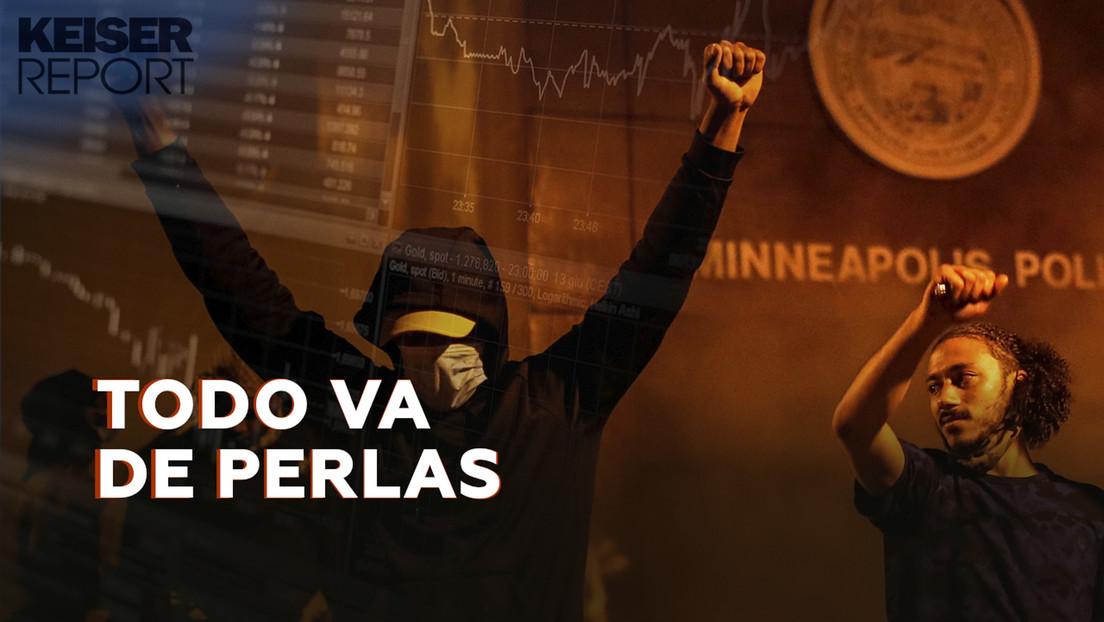 """""""La insurrección contra la ocupación por parte de los banqueros ha llegado a EE.UU."""""""