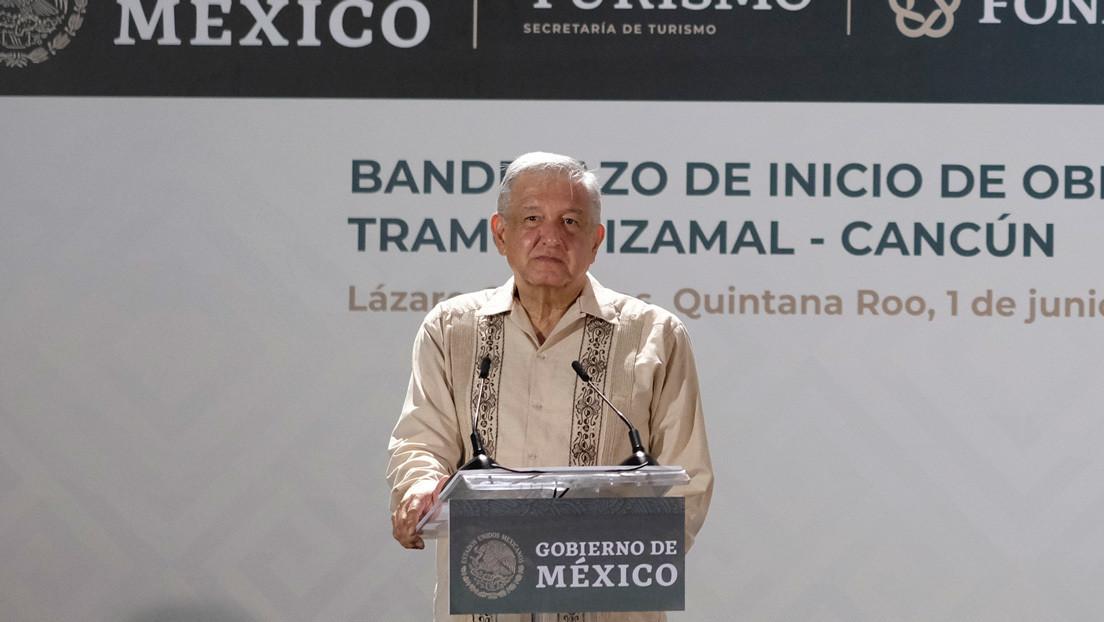 """López Obrador, sobre la crisis derivada del covid-19: """"Se va a tocar fondo"""""""