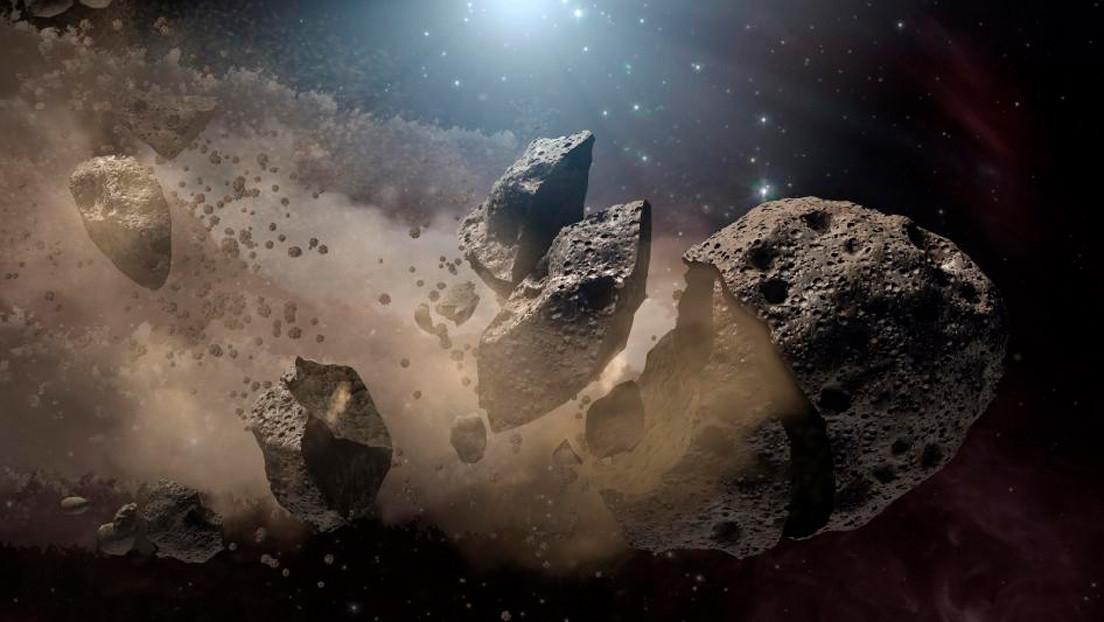 Una decena de asteroides se acerca a la Tierra esta semana