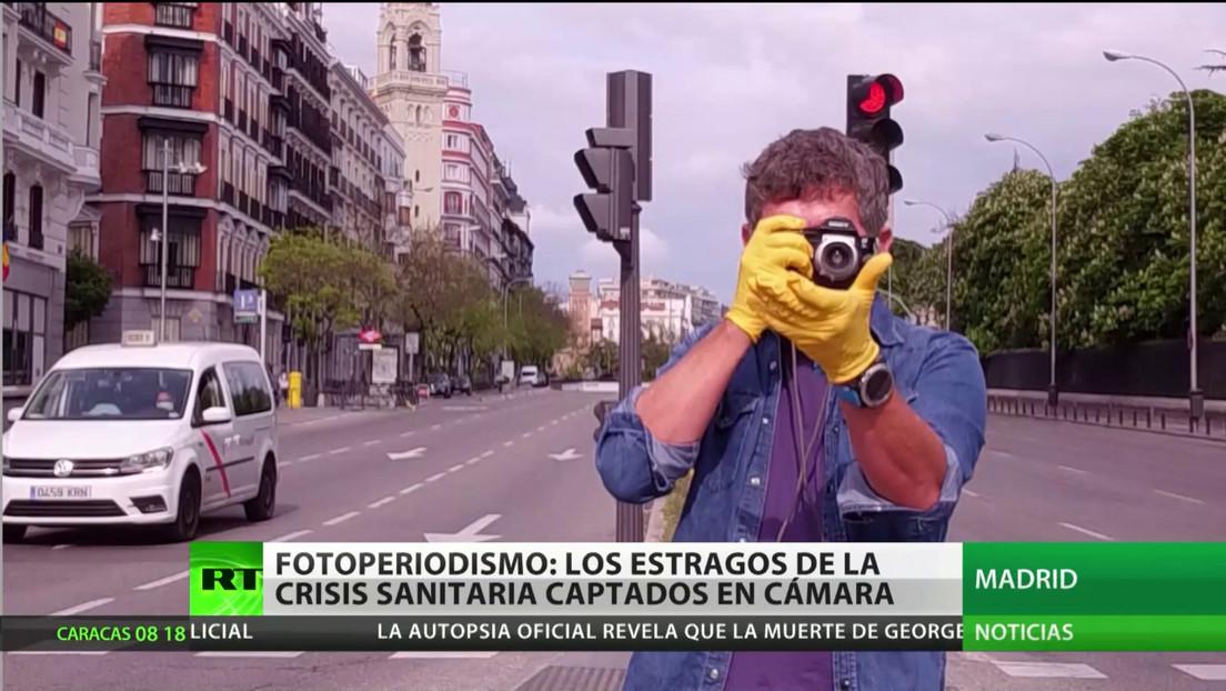 España: El fotoperiodismo retrata los estragos causados por la pandemia