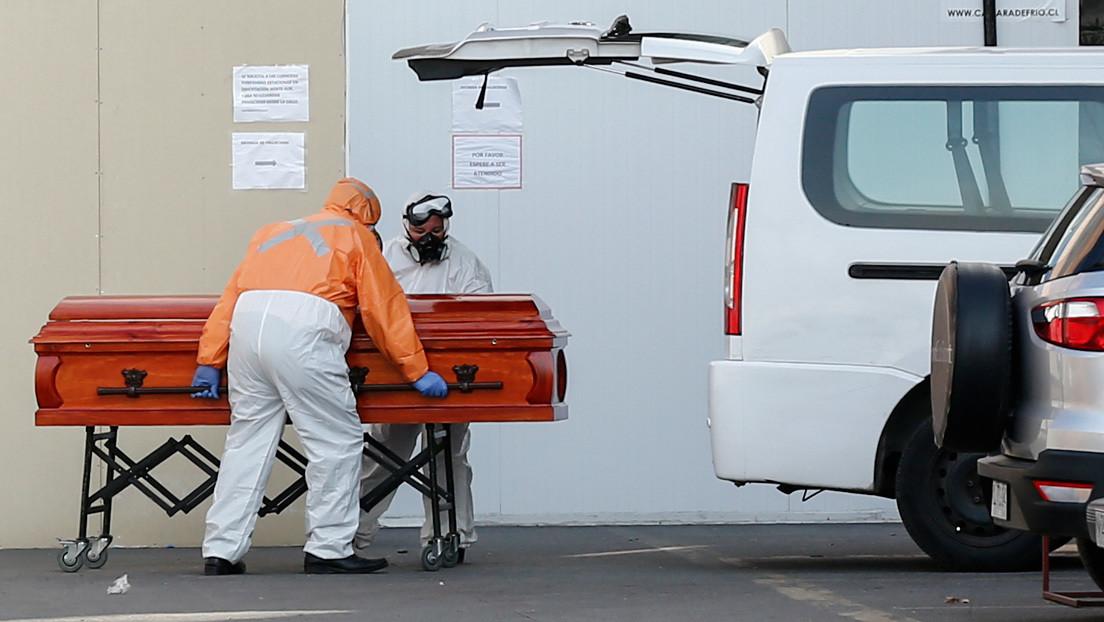 Chile cambia metodología de conteo y registra la cifra más alta de fallecidos en 24 horas desde el inicio de la pandemia