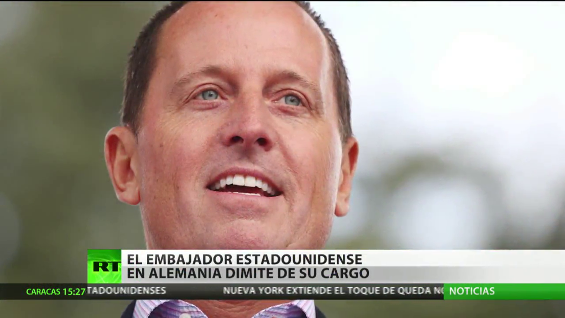 Dimite el embajador de EE.UU. en Alemania