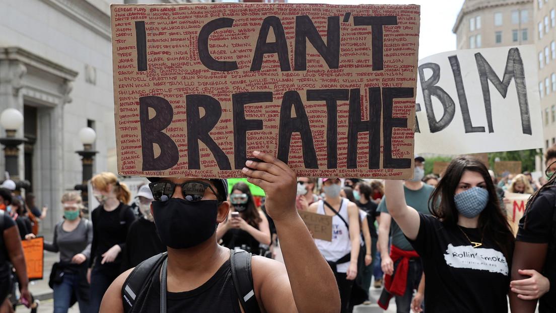 'Blackout Tuesday': redes sociales dan una contundente respuesta a la muerte de George Floyd