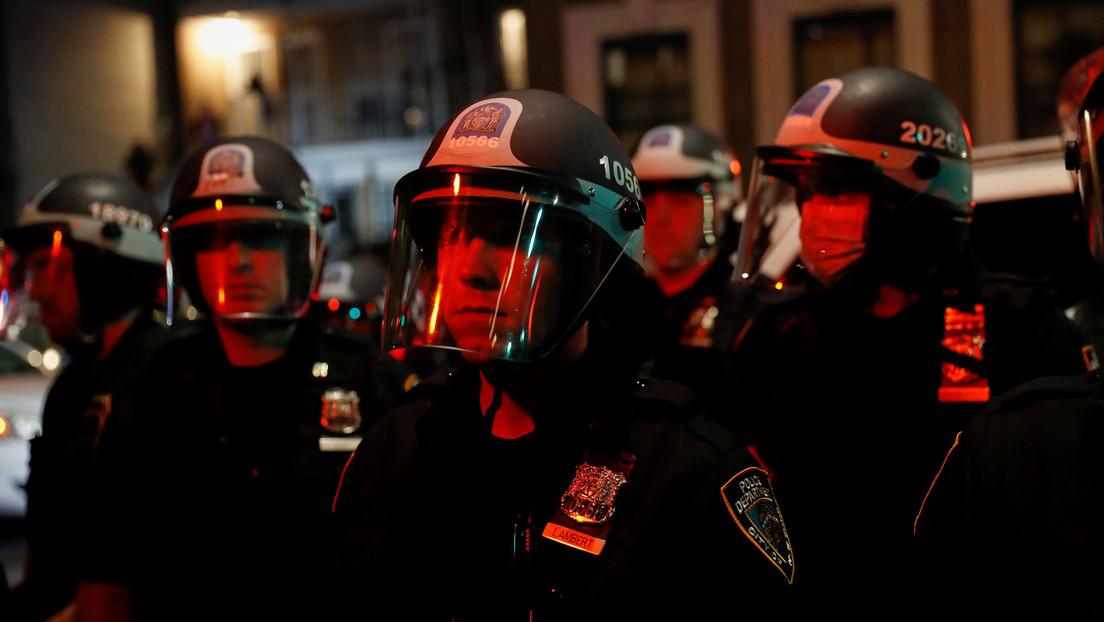 Un muerto y un herido en un tiroteo entre la Policía y un sujeto armado en Nueva York