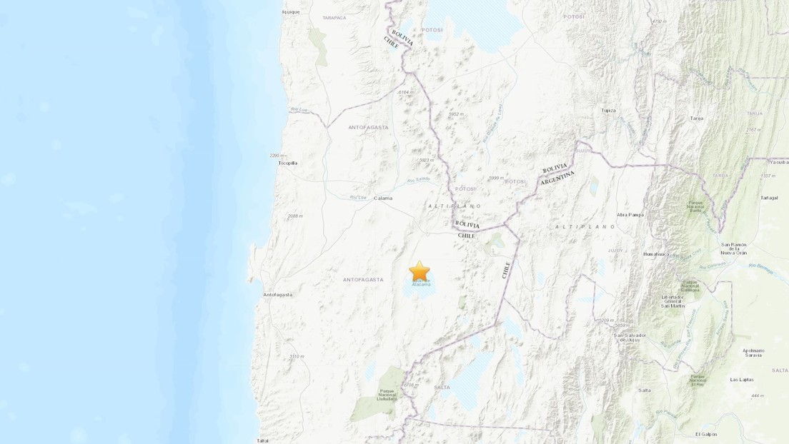 Un sismo de magnitud 6,8 sacude el noroeste de Chile