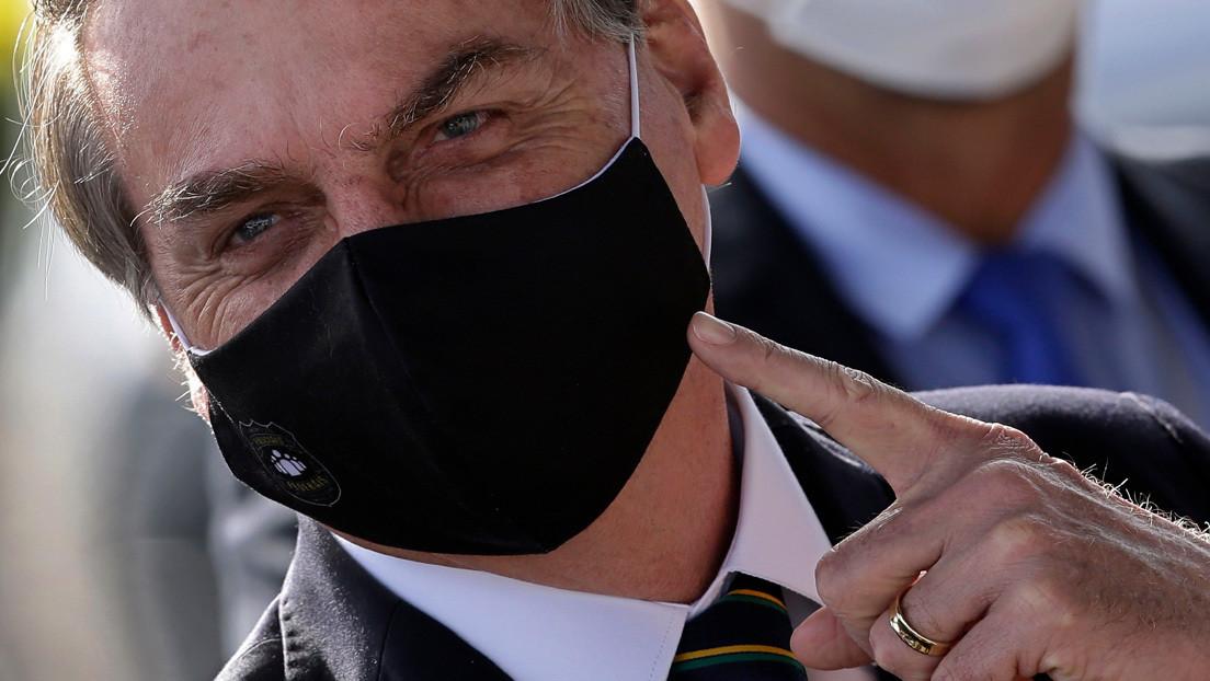 Bolsonaro tomará acciones legales contra Anonymous después de la publicación de sus datos personales y los de sus hijos