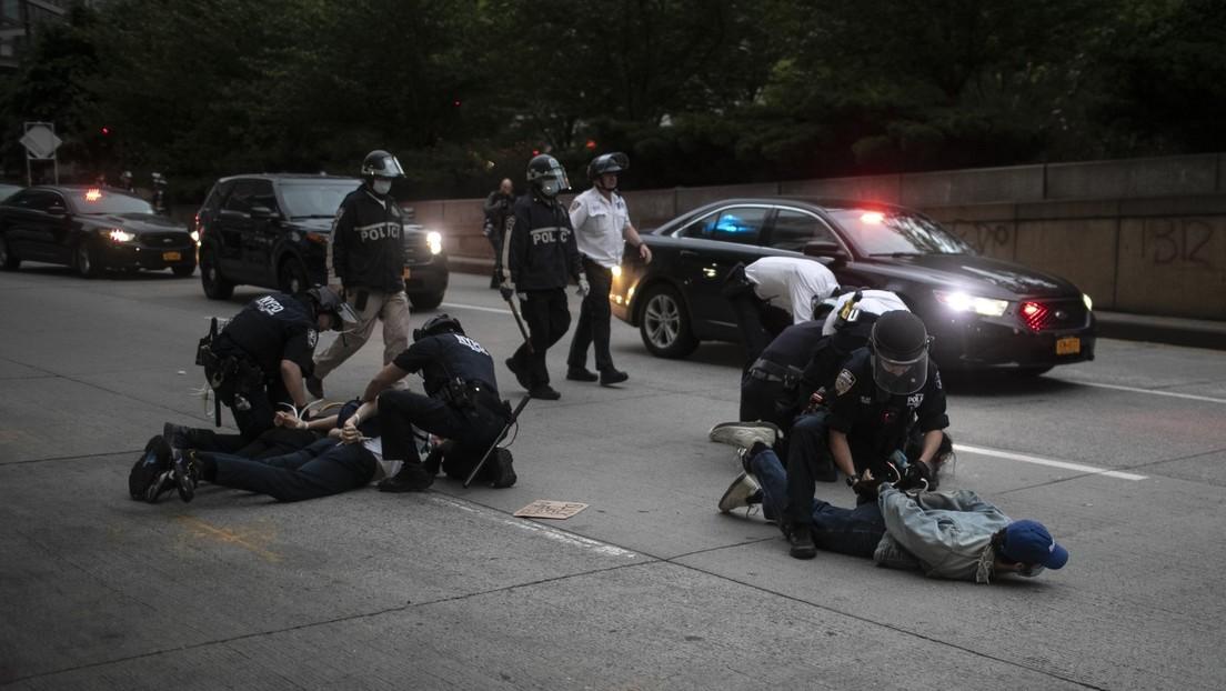 """Trump pide a la Policía """"endurecerse"""" ante la violencia en las protestas por la muerte de George Floyd"""