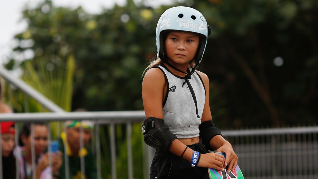 VIDEO: Una deportista de 11 años del equipo olímpico británico sufre una terrible caída desde gran altura mientras practicaba 'skateboarding'