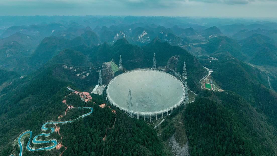 Un gigantesco radiotelescopio chino comenzará a buscar civilizaciones extraterrestres