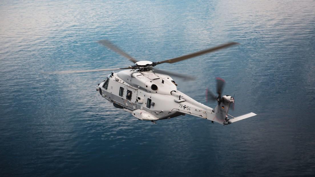 Alemania pone en servicio el nuevo helicóptero naval NH90 Sea Lion