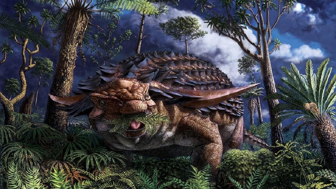 El fósil de un dinosaurio de hace 110 millones de años muestra cuál fue su última comida