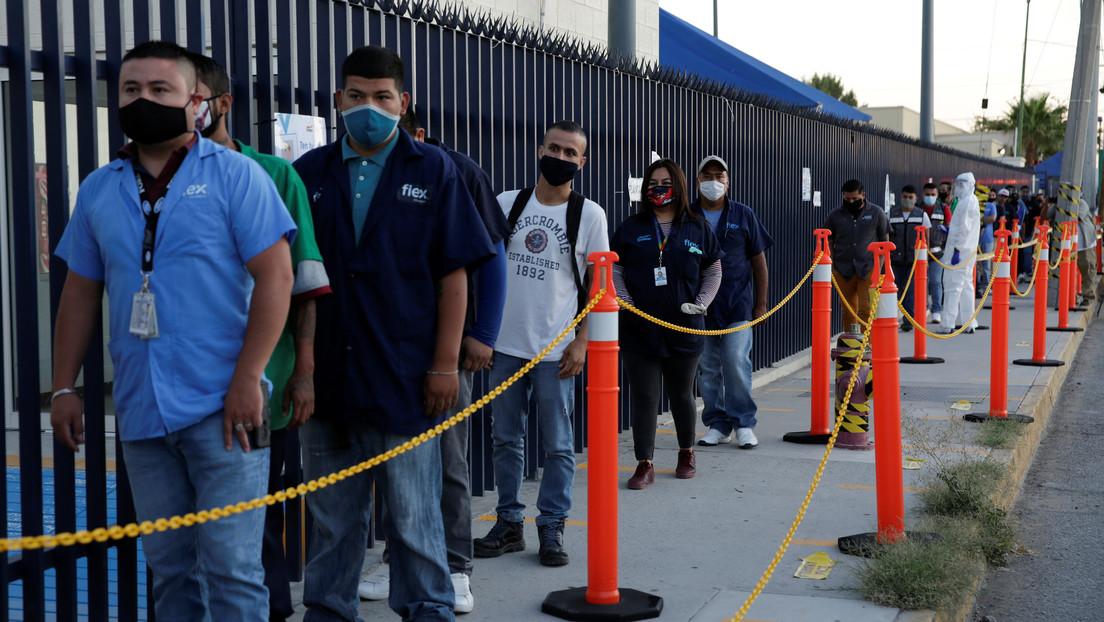 México supera a EE.UU. en muertes diarias por coronavirus y acumula más de 100.000 contagios
